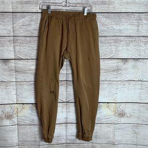 Bullhead Denim Co Skinny Straight Khaki Pants